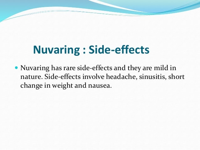 Ovral Birth Control Side Effects