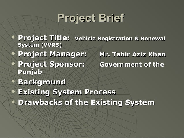 Project Objectives   Automates enforcement actions and violation processing for non-    compliant vehicles and outstandin...