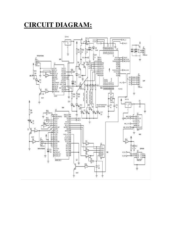 Vehical tracking system circuit diagram 4 working of vehicle tracking system ccuart Images