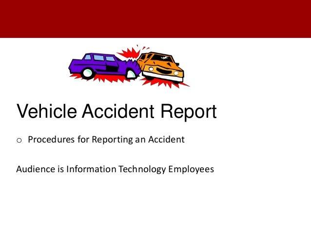 Accident Reporting Procedures Car