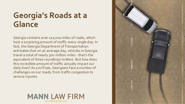 Vehicle accidents and the dangers of georgia roads Slide 2