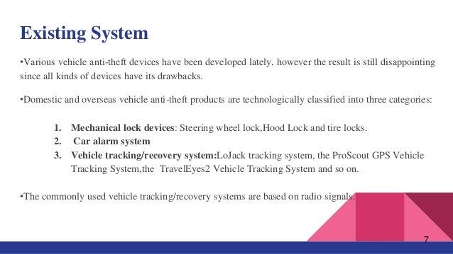Vehicle Anti Theft Tracking System Based On Internet Of Things