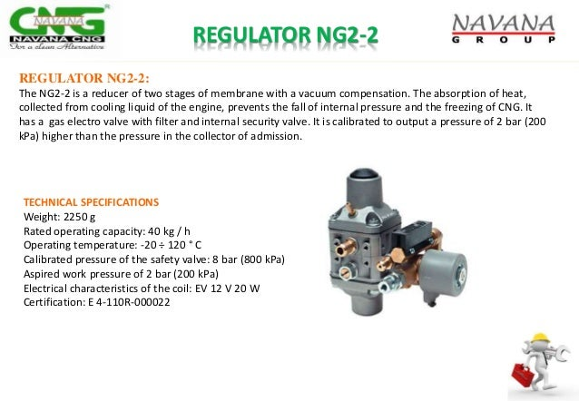 REGULATOR NG2-2 REGULATOR NG2-2: The NG2-2 is a reducer of two stages of membrane with a vacuum compensation. The absorpti...