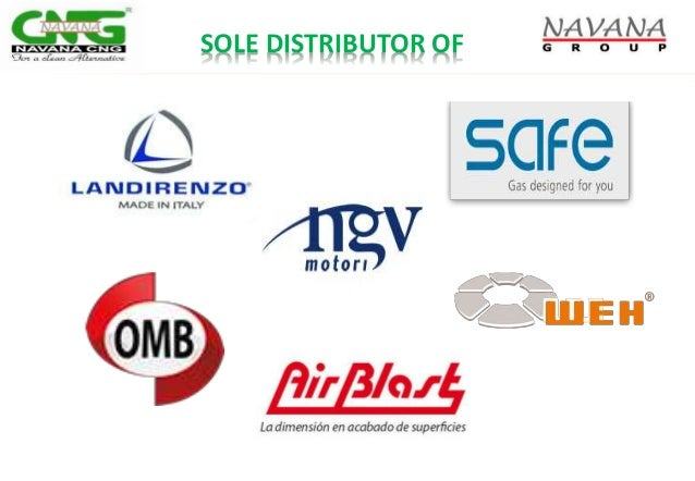 SOLE DISTRIBUTOR OF