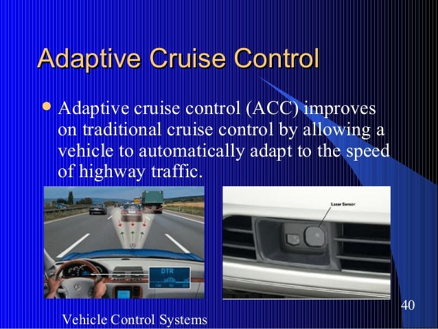 Should Your New Car Have Adaptive Cruise Control