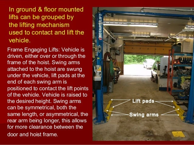 Ontap Vehicle Lift Safety