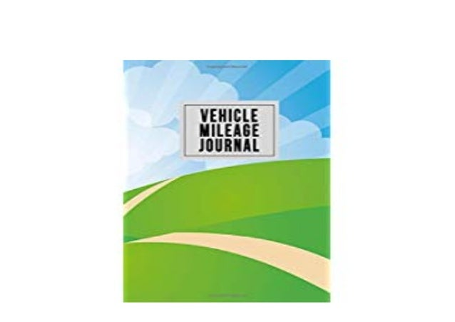 P D F Library Vehicle Mileage Journal Car Truck Motorcycle Or Rv M