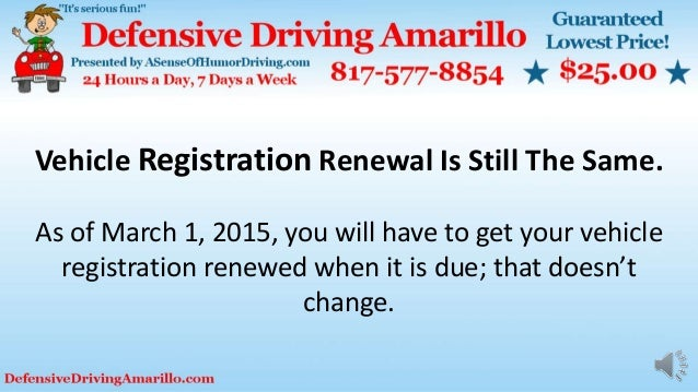 Car registration renewal texas locations
