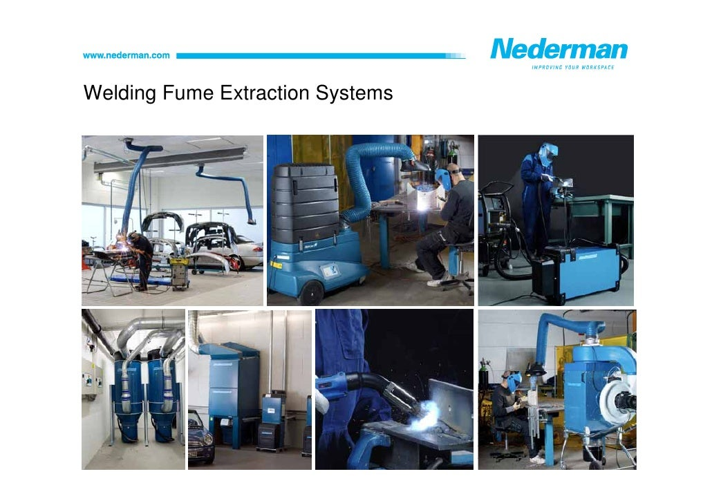 Welding Fume Extraction Systems : Vehicle repair shops