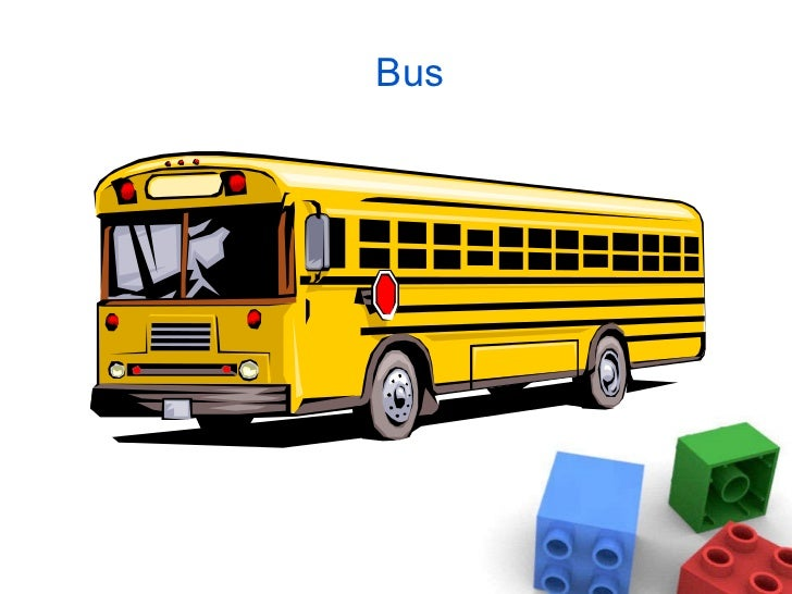 Names And Pictures Of Vehicles For Preschoolers And