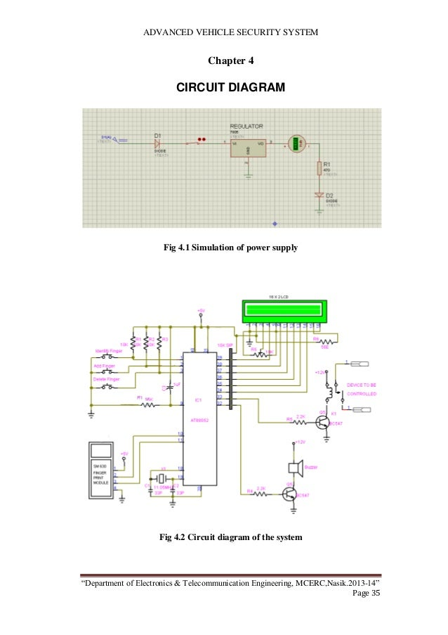 Best car alarm system diagram gallery electrical circuit diagram vehicle security system final report cheapraybanclubmaster Choice Image