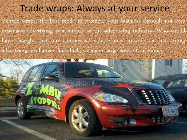 Vehicle wrap company