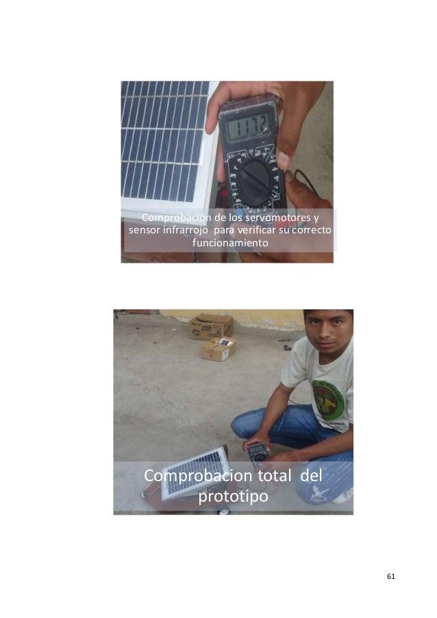 Vehiculo Antichoque Con Un Panel Solar Como Fuente De