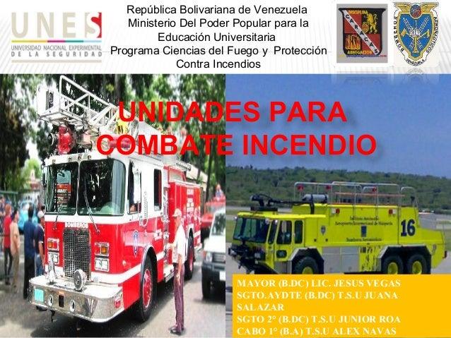 República Bolivariana de Venezuela Ministerio Del Poder Popular para la Educación Universitaria Programa Ciencias del Fueg...