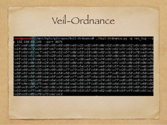 Veil-Ordnance