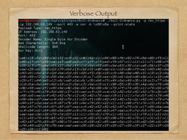 Verbose Output