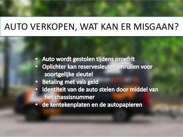 Veilig Auto Verkopen Tips