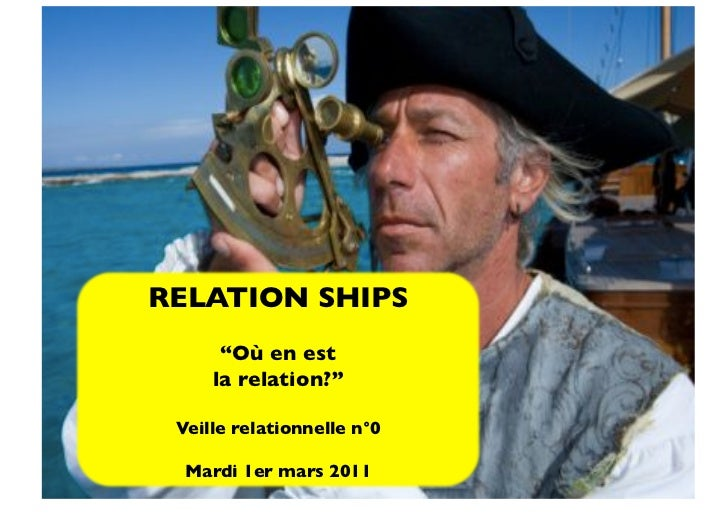 """RELATION SHIPS      """"Où en est     la relation?"""" Veille relationnelle n°0  Mardi 1er mars 2011"""