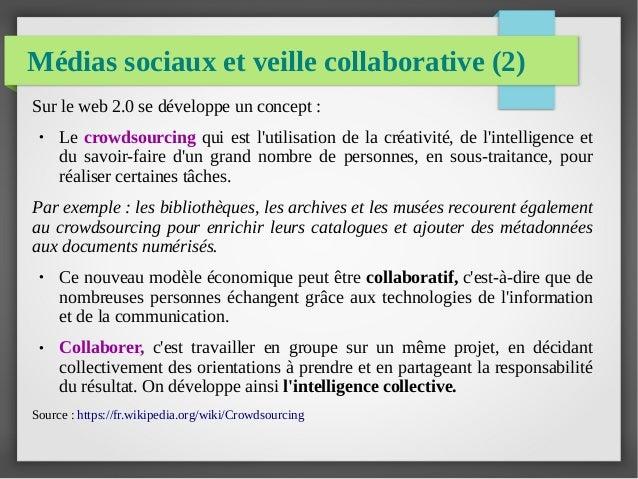 veille documentaire et outils du web 2 0