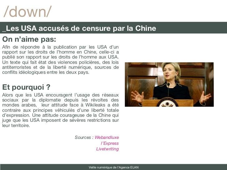 /down/_Les USA accusés de censure par la ChineOn n'aime pas:Afn de répondre à la publication par les USA d'unrapport sur l...