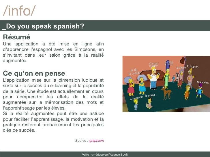 /info/_Do you speak spanish?RésuméUne application a été mise en ligne afnd'apprendre l'espagnol avec les Simpsons, ens'inv...