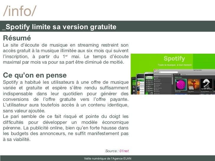 /info/_Spotify limite sa version gratuiteRésuméLe site d'écoute de musique en streaming restreint sonaccès gratuit à la mu...