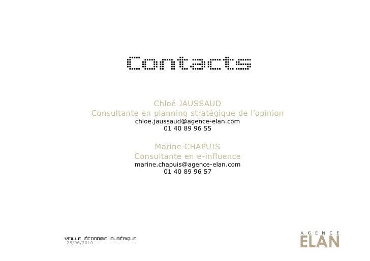 Contacts                         Chloé JAUSSAUD          Consultante en planning stratégique de l'opinion                 ...