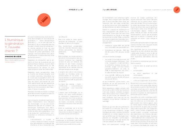 Articles Page 22  Page 23  ArticleS  Et normalement, leur prétendue agilité d'usages, leurs « usages natifs » devraient êt...