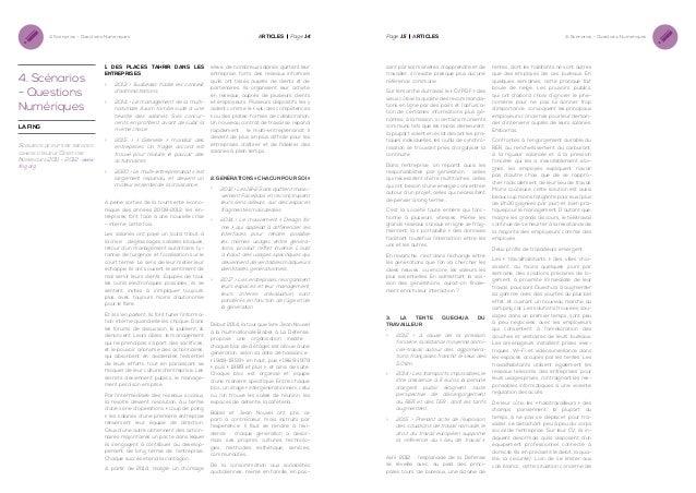 4. Scénarios - Questions Numériques  4. Scénarios - Questions Numériques La fing  Scénarios de rupture tirés des cahiers d...