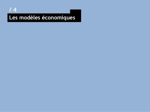 Les modèles économiques / 4