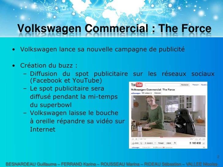 Marketing viral, buzz marketing et social media marketing Slide 2