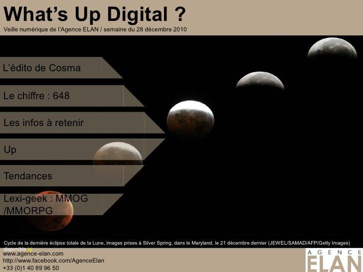 Le chiffre : 648Les infos à retenirUpTendancesLexi-geek : MMOG/MMORPGCycle de la dernière éclipse totale de la Lune, image...