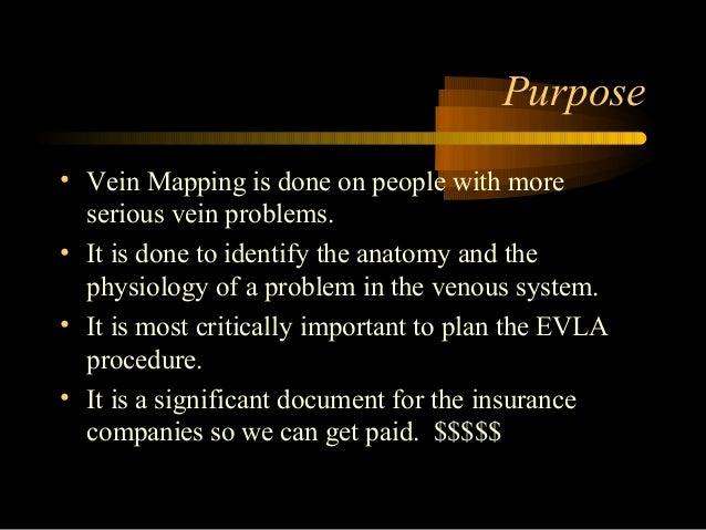 Vein mapping Slide 2