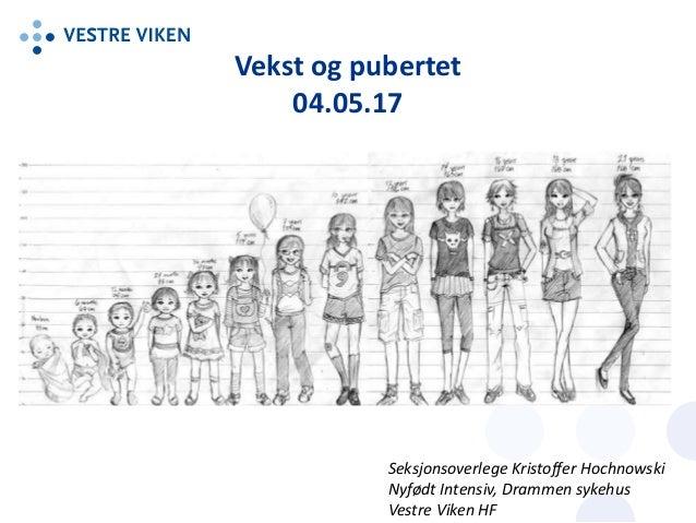 pubertet jenter alder