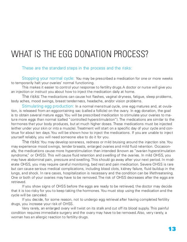 Becoming an Egg Donor: provided by The Donor Solution