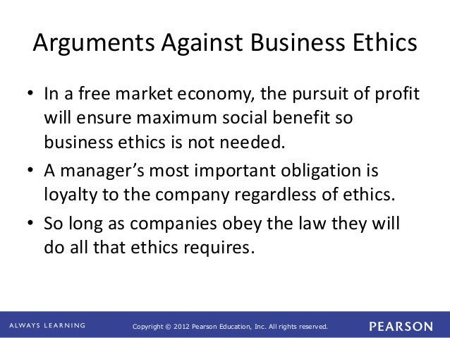 ethics and the conduct of business pdf