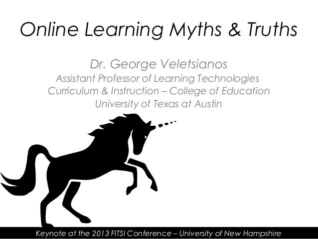 Dr. George VeletsianosAssistant Professor of Learning TechnologiesCurriculum & Instruction – College of EducationUniversit...