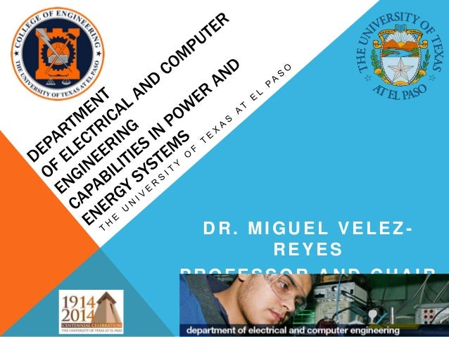 DR. MIGUEL VELEZ-        REYESPROFESSOR AND CHAIR