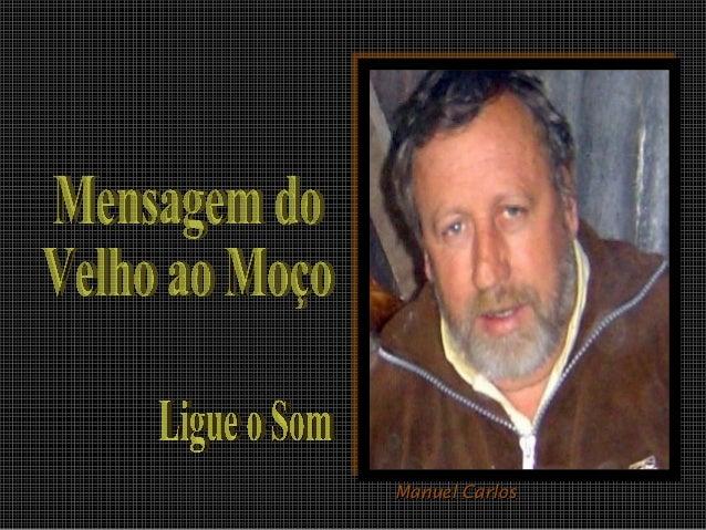 Manuel CarlosManuel Carlos