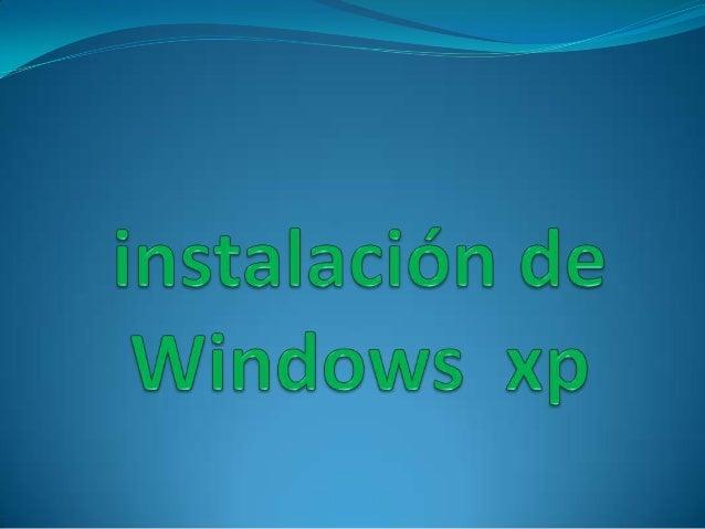 Enciende el ordenador y mete el cd de instalación de windows xp. Si la configuración de la BIOS es correcta, se iniciará e...