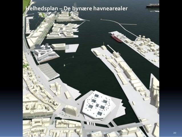 Helhedsplan – De bynære havnearealer 20Knud Schulz Aarhus oktober 2015