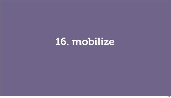 16. mobilize               133