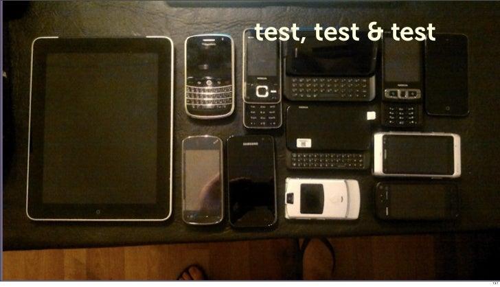 test, test & test                    137