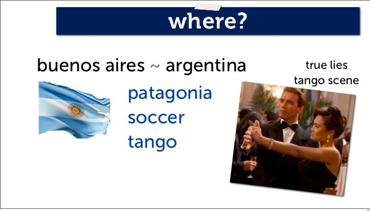 where?buenos aires ~ argentina     true lies                           tango scene          patagonia          soccer     ...