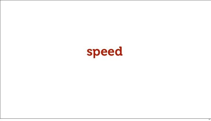 speed        35