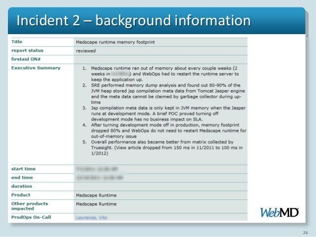 incident analysis