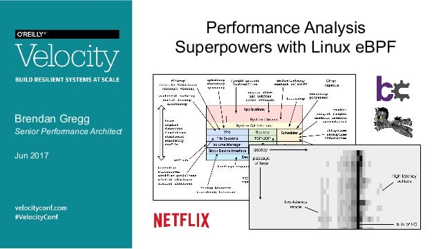 Performance Analysis Superpowers with Linux eBPF Brendan Gregg Senior Performance Architect Jun 2017