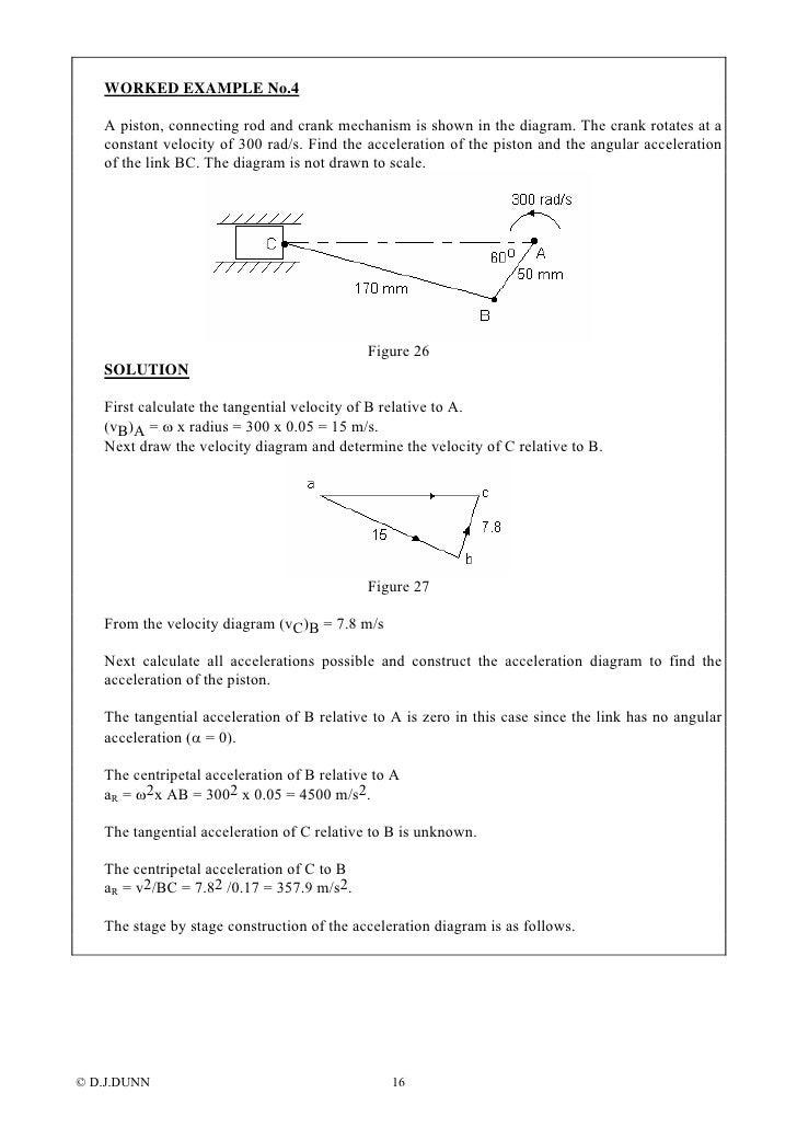 Velocity acceleration diagrams ccuart Images