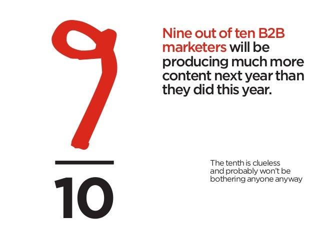 Crap. The Content Marketing Deluge. Slide 3