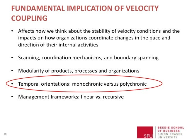 FUNDAMENTAL IMPLICATION OF VELOCITY COUPLING • Affects how we think about the stability of velocity conditions and the imp...